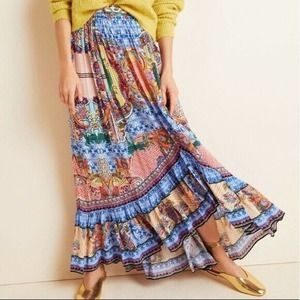 Anthro Allaire High-Low Maxi Skirt Bhanuni by Jyot